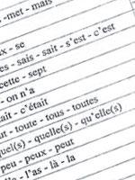 Liste d'homophones grammaticaux